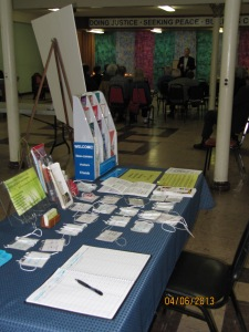 Our Welcome Table. Come as you are!