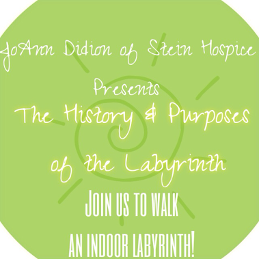 Join us to walk the labyrinth!