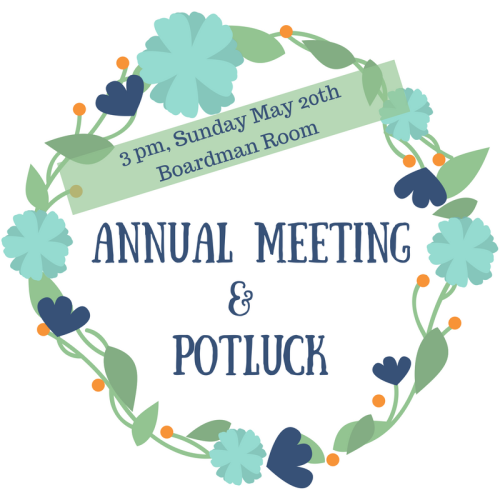 Annual Meeting& Potluck